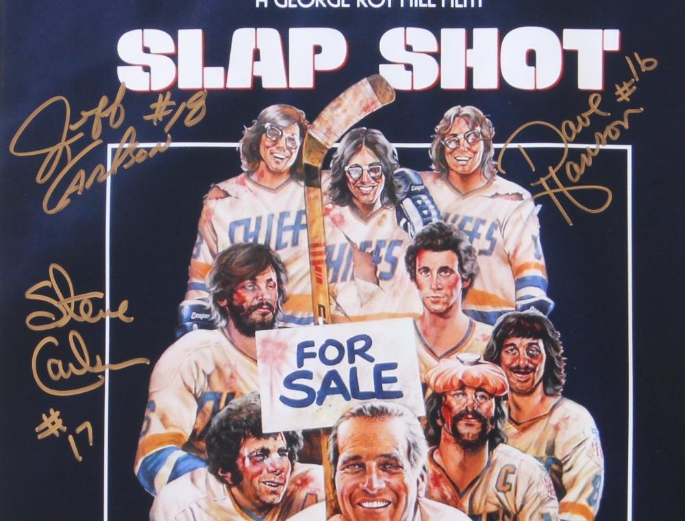 Slap shot movie poster