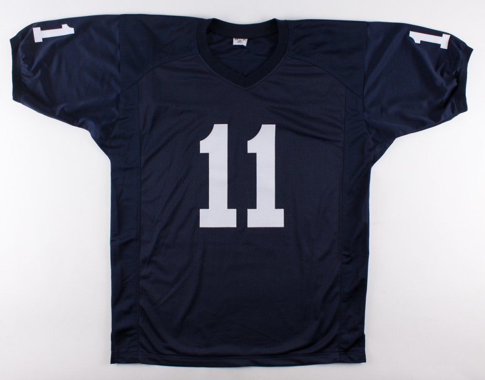 Penn State Nittany Lions Jersey Inscribed Fight On State Jsa Coa