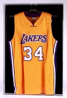Basketball Jersey Frame Shadow Box Display Case with Removable Hanger for Easy Access (Black Back) at PristineAuction.com