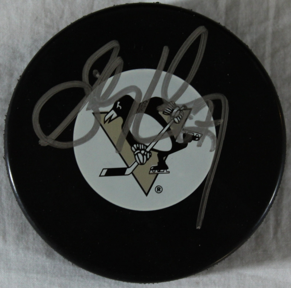 Sidney Crosby Signed Penguins Logo Hockey Puck (ACE COA) at  PristineAuction.com cc6f884acc6
