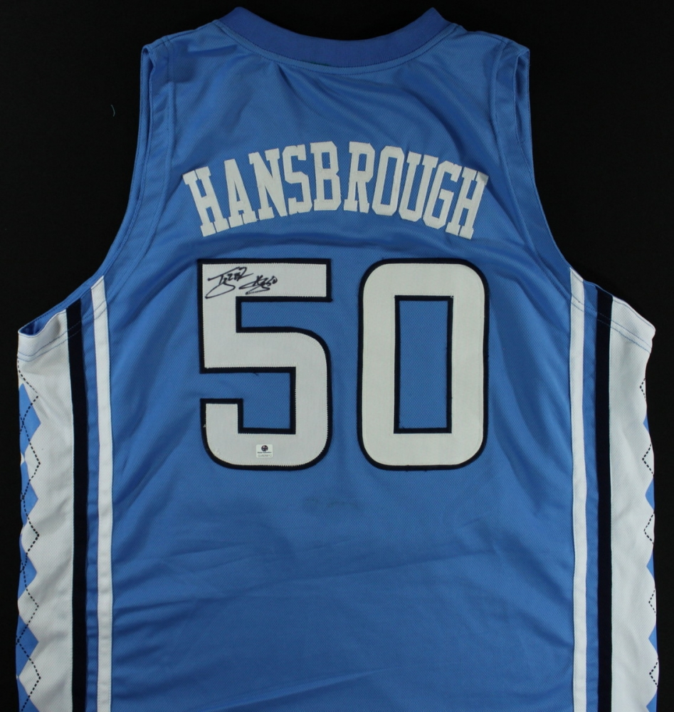 b1d4c198407 Tyler Hansbrough Signed North Carolina Jersey (GA COA) at  PristineAuction.com