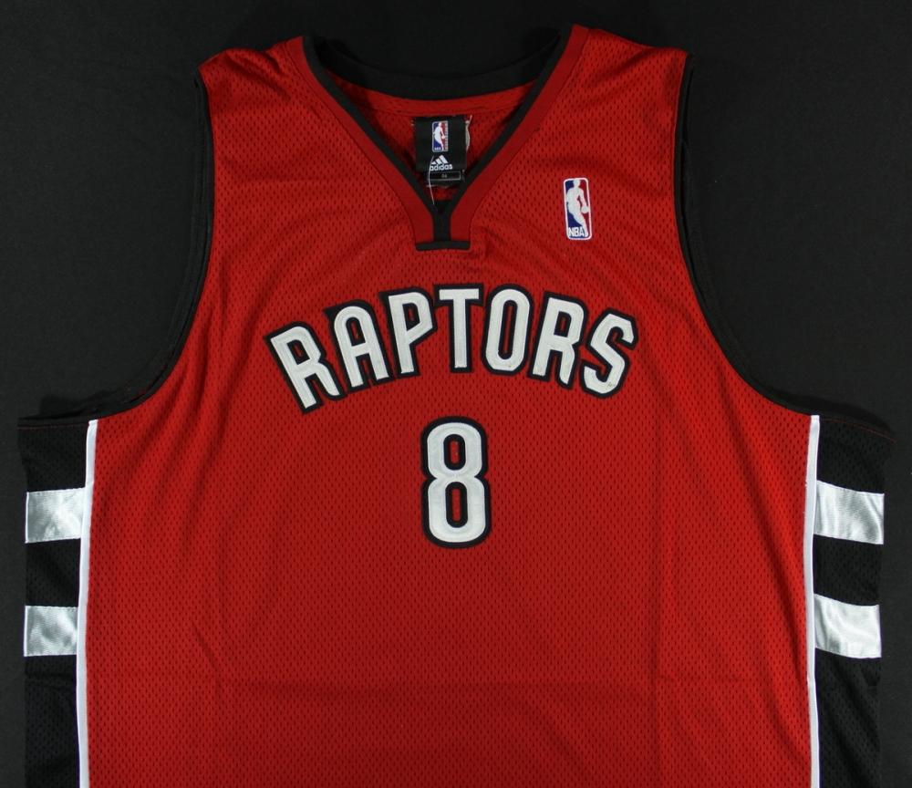 798933115ca Jose Calderon Signed Raptors Jersey (PA LOA) at PristineAuction.com