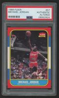 1986-87 Fleer #57 Michael Jordan RC (PSA Authentic) (Altered)