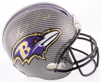 Ray Lewis Signed Ravens Full-Size Helmet (Prova COA) at PristineAuction.com