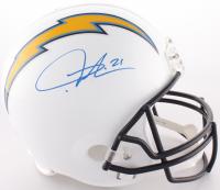 LaDainian Tomlinson Signed Chargers Full-Size Helmet (Radtke COA & Tomlinson Hologram)