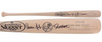 Giancarlo Stanton & Aaron Judge Signed Yankees Louisville Slugger Baseball Bat (Fanatics Hologram)
