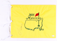 Jordan Spieth Signed 2015 Masters Golf Pin Flag (JSA LOA) at PristineAuction.com