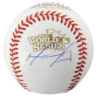 David Ortiz Signed 2013 World Series Baseball (Fanatics Hologram) at PristineAuction.com