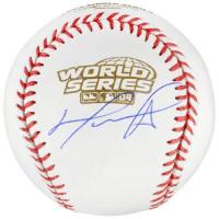 David Ortiz Signed 2004 World Series Baseball (Fanatics Hologram) at PristineAuction.com