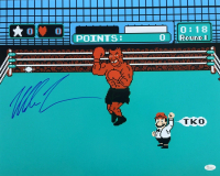 "Mike Tyson Signed ""Mike Tyson's Punch-Out!!"" 16x20 Photo (JSA COA)"