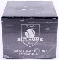 Hit Parade Autographed Full Size Batting Helmet Mystery Box - 2018 Series 7 at PristineAuction.com