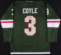 Charlie Coyle Signed Wild Jersey (Beckett COA)