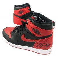 Michael Jordan Signed Air Jordan 1's Retro Basketball Shoes (UDA COA)