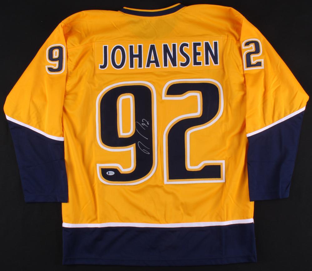 Ryan Johansen Signed Predators Jersey (Beckett COA) e5de77ec0