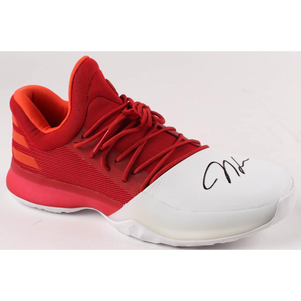 James Harden Signed Autographed Adidas Vol. 1 Black