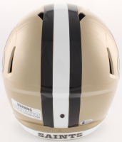 Drew Brees Signed Saints Full-Size Speed Helmet With Visor (Beckett COA) at PristineAuction.com