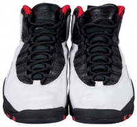 Michael Jordan Signed 1995 Air Jordan X Game-Used Basketball Shoes (UDA COA & PSA LOA)