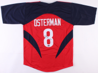 "Cat Osterman Signed Team USA Jersey Inscribed ""USA"" (TriStar Hologram)"