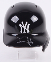Aaron Judge Signed New York Yankees Full-Size Batting Helmet (Fanatics Hologram & MLB Hologram)