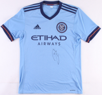 Andrea Pirlo Signed New York City FC Adidas Jersey (JSA COA)