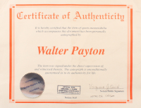 "Walter Payton Signed Bears Limited Edition Full-Size Authentic On-Field Helmet Inscribed ""Sweetness"" & ""16,726"" (CAI COA) at PristineAuction.com"