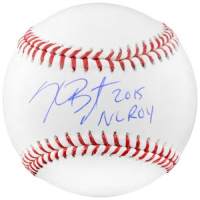 "Kris Bryant Signed Baseball Inscribed ""2015 NL ROY"" (Fanatics Hologram) at PristineAuction.com"