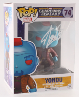 "Stan Lee Signed ""Yondu"" #74 Guardians of the Galaxy Marvel Bobble-Head Funko Pop Vinyl Figure (Radtke COA & Lee Hologram)"