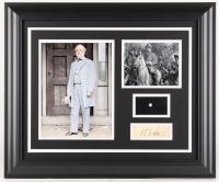 Robert E. Lee 19.5x23.5 Custom Framed Cut Display with (1) Hand-Written Word from Letter (JSA LOA Copy)