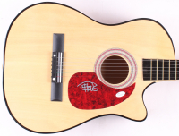 Tommy Chong Signed Full-Size Acoustic Guitar (JSA COA)