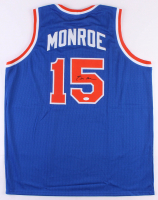 Earl Monroe Signed Jersey (JSA COA) at PristineAuction.com