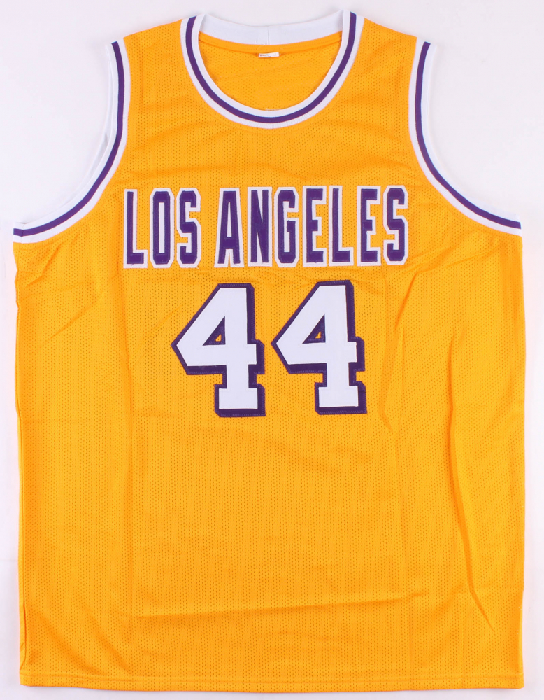 9c0a12a6f Jerry West Signed Lakers Jersey (JSA COA) at PristineAuction.com