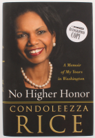 "Condoleezza Rice Signed ""No Higher Honor"" Hardcover Book (PSA COA) at PristineAuction.com"