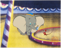 "Walt Disney's ""Dumbo"" LE 11x14 Animation Serigraph Cel at PristineAuction.com"