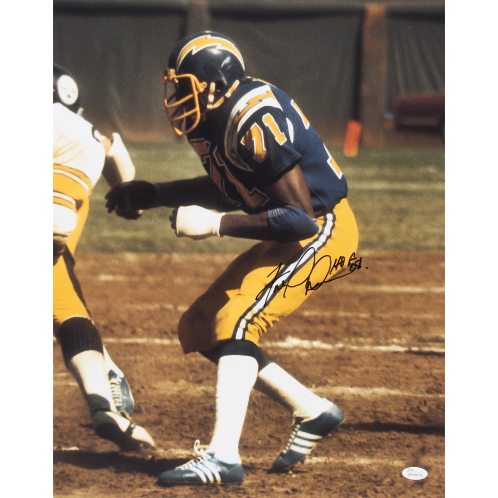 Fred Dean Signed Chargers 16x20 Photo ...