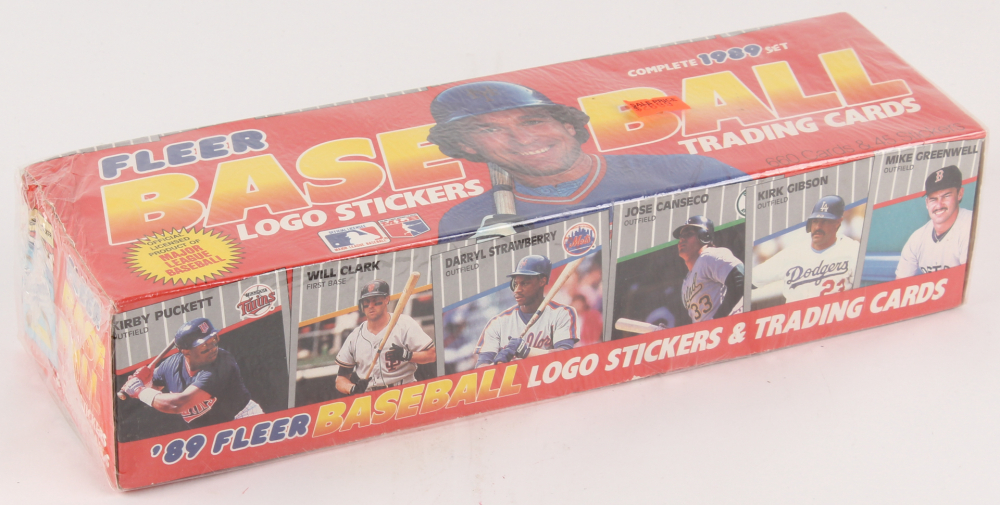 1989 Fleer Logo Stickers & Trading Cards Complete Set of (660) Baseball Cards at PristineAuction.com