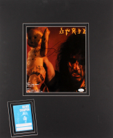 Alice Cooper Signed 20x24 Custom Matted Print Display (JSA COA) at PristineAuction.com