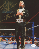 "Ted DiBiase Signed WWE 8x10 Photo Inscribed ""$"" (JSA COA) at PristineAuction.com"