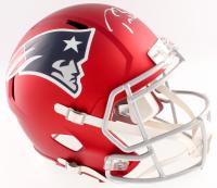 Tom Brady Signed Patriots Full-Size Blaze Speed Helmet LE #10/12 (Steiner COA & TriStar COA)