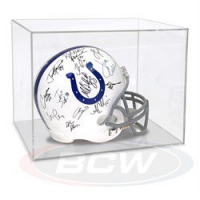 BCW Acrylic Full Size Helmet Display Case at PristineAuction.com
