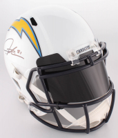 LaDainian Tomlinson Signed Chargers Full-Size Speed Helmet With Black Visor (Beckett Hologram) at PristineAuction.com