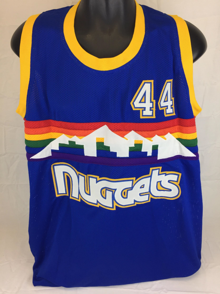 Dan Issel Signed Nuggets Throwback Jersey (JSA COA) at PristineAuction.com 61b66ff70