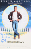 "Ray Liotta Signed ""Field of Dreams"" 11x17 Poster Inscribed ""If You Build It, He Will Come"" (Schwartz COA)"