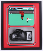 Mike Tyson Signed 22x26x5 Custom Framed Shadowbox Boxing Glove Display (JSA COA)
