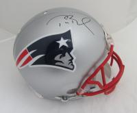 Tom Brady Signed Patriots Full-Size Helmet (TriStar Hologram)