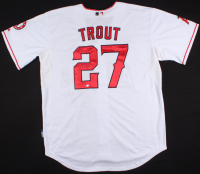 Mike Trout Signed Angels Jersey (Deluxe Signature Collection COA)