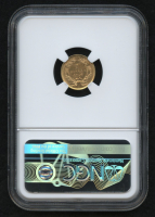 1856 $1 One Dollar Liberty Head Gold Coin, Slanted 5 (NGC AU 55) at PristineAuction.com