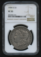 1904-S $1 Morgan Silver Dollar (NGC VF 35)