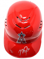 Mike Trout Signed Angels Limited Edition Full-Size Authentic On-Field Batting Helmet (Steiner COA) at PristineAuction.com