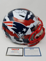 Tom Brady Signed Patriots Limited Edition Swedish Camo Full-Size Authentic On-Field Speed Helmet (Steiner COA & TriStar Hologram)