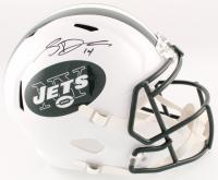 Sam Darnold Signed Jets Full-Size Speed Helmet (JSA COA)